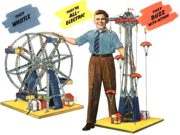 Erector Sets History Literature Information Supplies